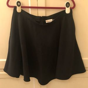 Red Valentino A-line black skirt size 16/46 euro